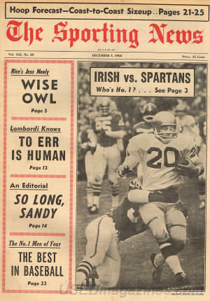 The Sporting News December 03, 1966