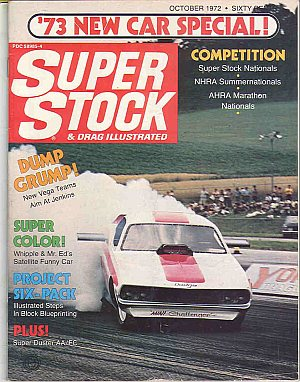 Super Stock & Dragster Illustrated October 1972