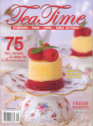 Tea Time July/August 2008