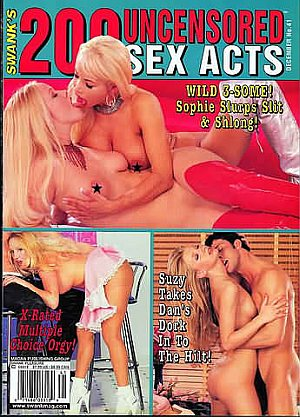 200 Uncensored Sex Acts December 2001